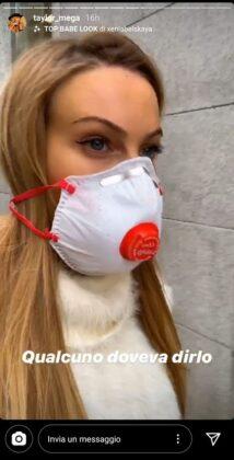 Taylor Mega contro il virus