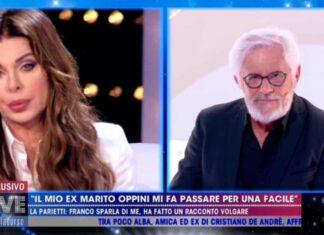 Alba Parietti e Franco Oppini