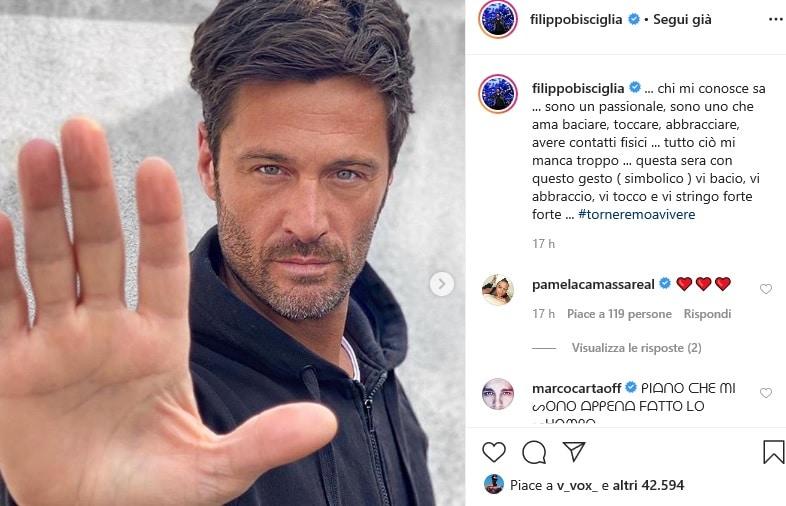 Filippo Bisciglia: 'Chi mi conosce sa…', poi il gesto simbol