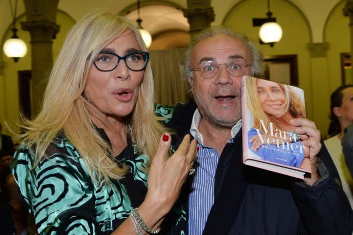 Jerry Calà e Mara Venier
