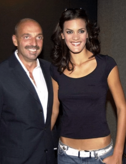 Paolo Brosio e l'ex moglie Gretel Coello