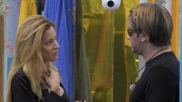 Patrick e Adriana sul GF VIP