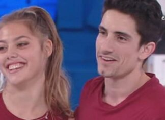 Javier Rojas e Talisa Rovagnani