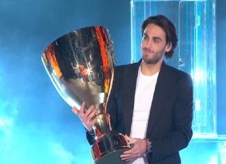 Alberto Urso alla finale di Amici 2020