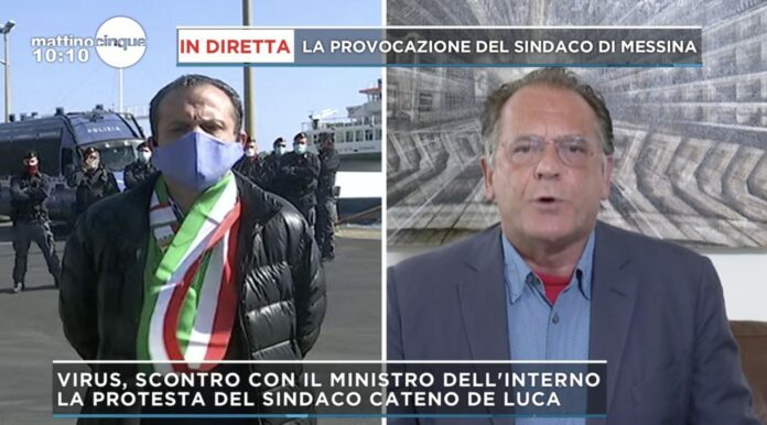 Alessandro Cecchi Paone e Cateno De Luca