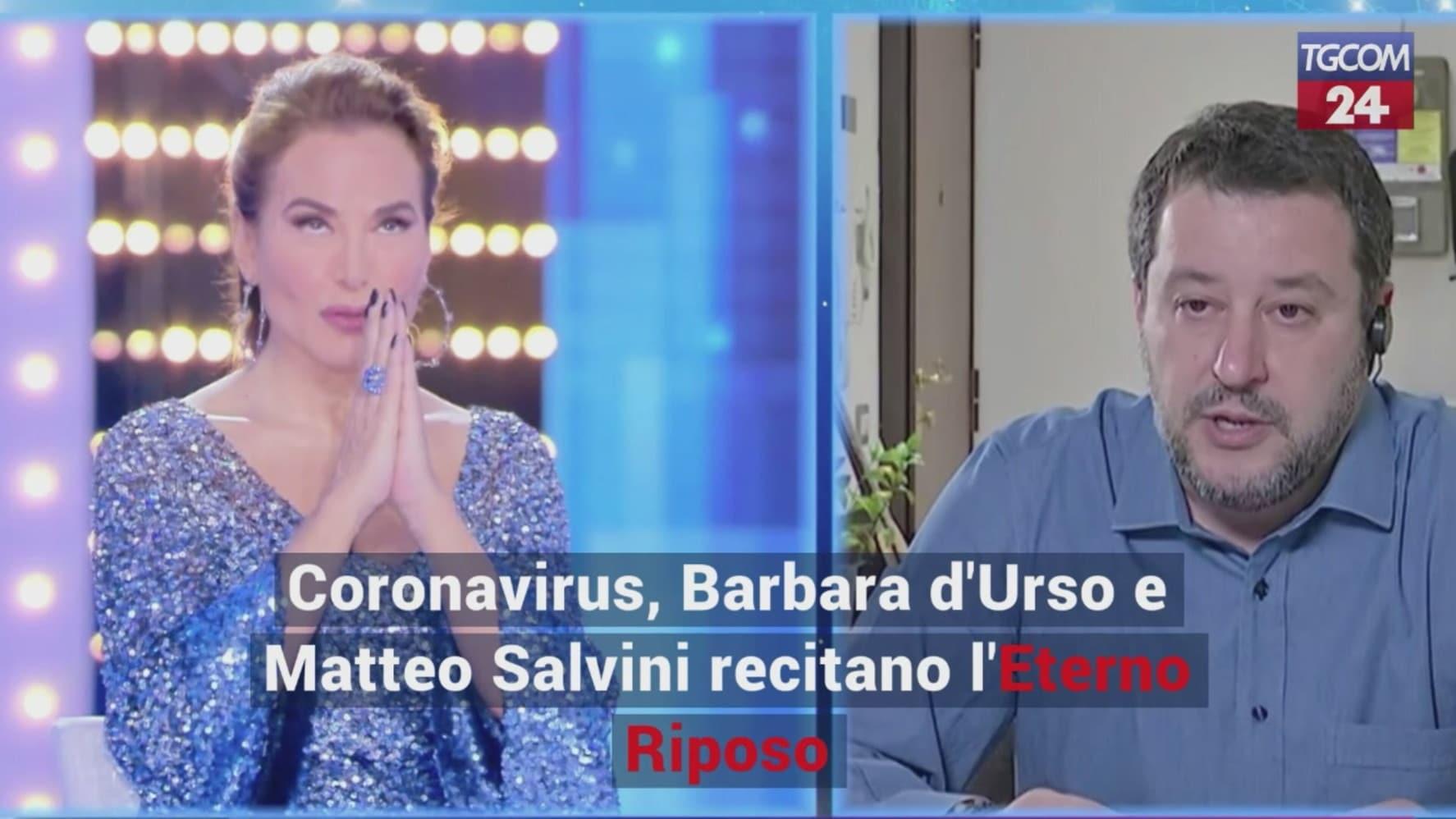 Barbara d'Urso risponde al sindaco di Bacoli: