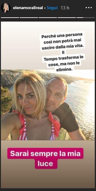 """Elena Morali e l'inaspettata dedica a Scintilla: """"Sarai semp"""