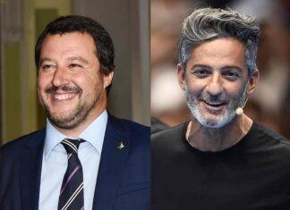 Fiorello e Matteo Salvini