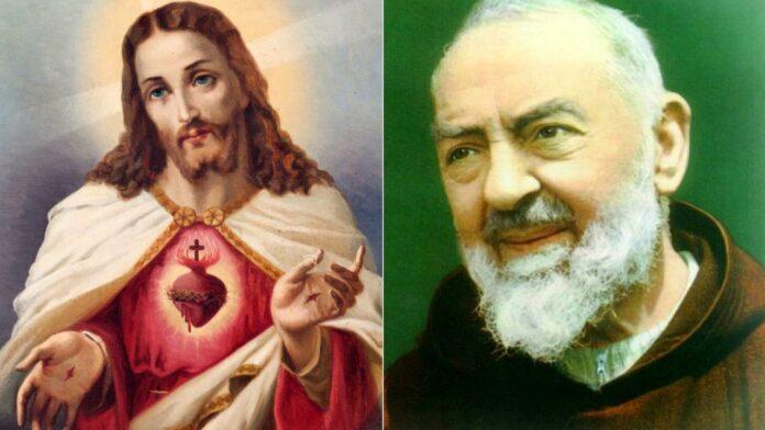 Gesù Cristo e Padre Pio