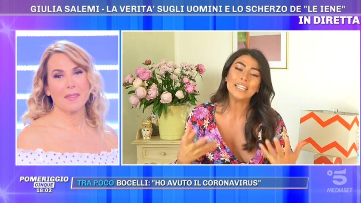 Barbara D'Urso e Giulia Salemi