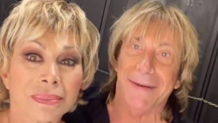 Carmen Russo ed Enzo Paolo Turchi