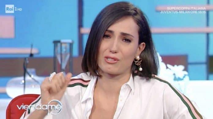 Caterina Balivo triste