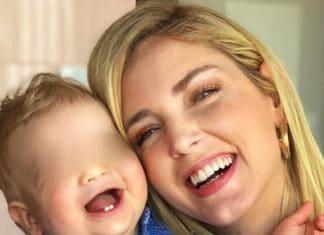 Chiara Ferragni e la foto con Leo