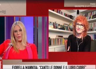 Eleonora Daniele e Fiorella Mannoia