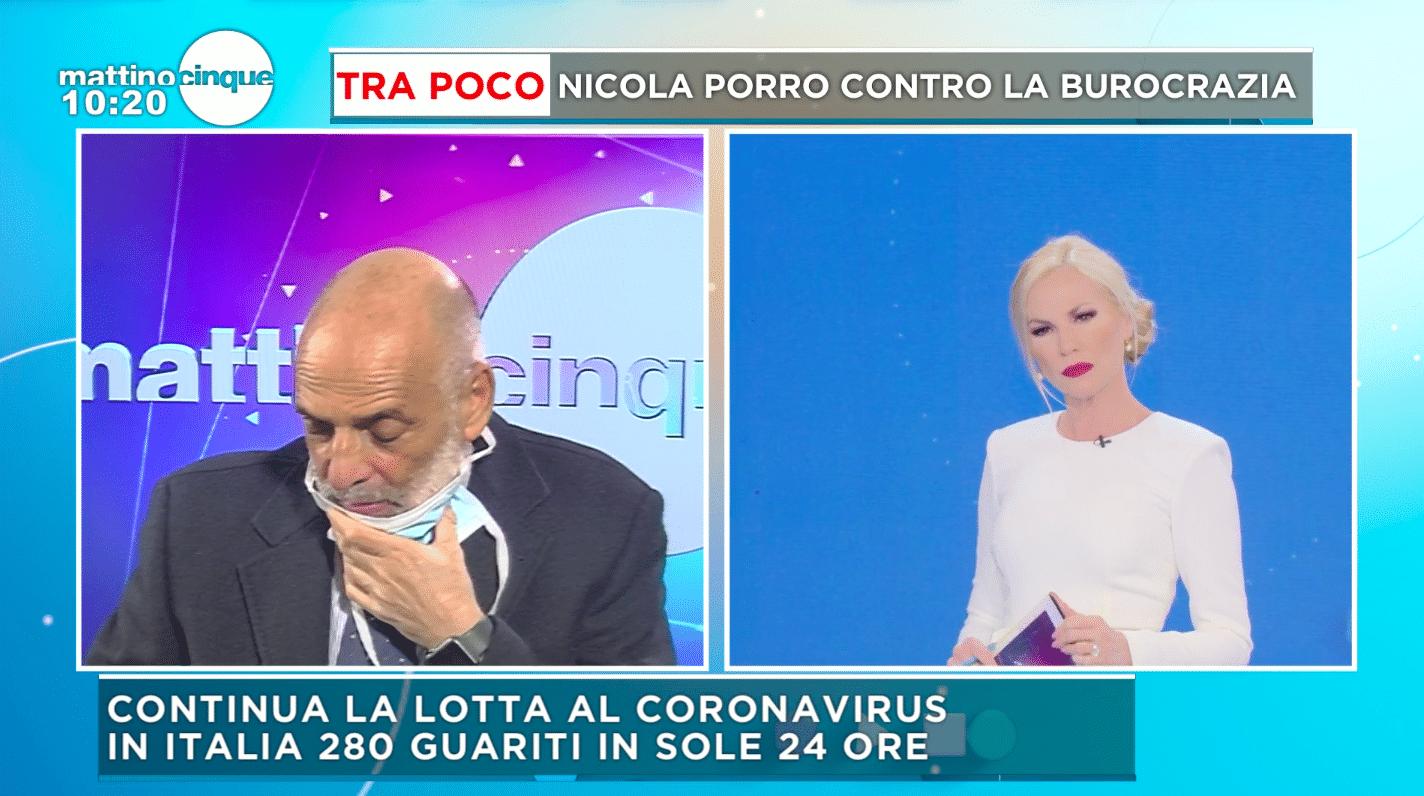 Federica Panicucci e Paolo Brosio
