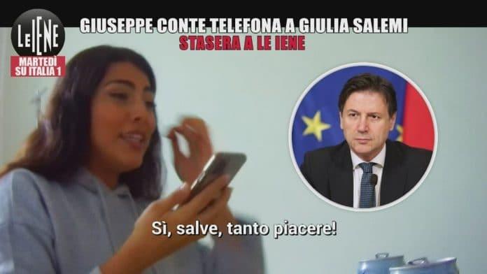 Giulia Salemi a Le Iene