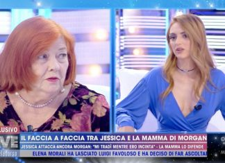 Jessica Mazzoli e l'ex suocera Luciana