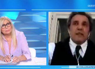 Mara Venier e Flavio Insinna