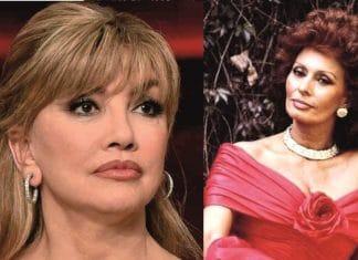 Milly Carlucci e Sophia Loren