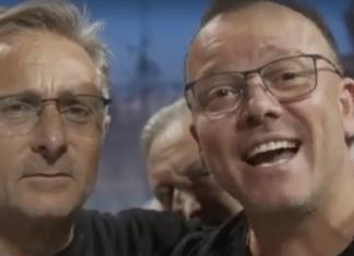 Paolo Bonolis e Gigi D'Alessio