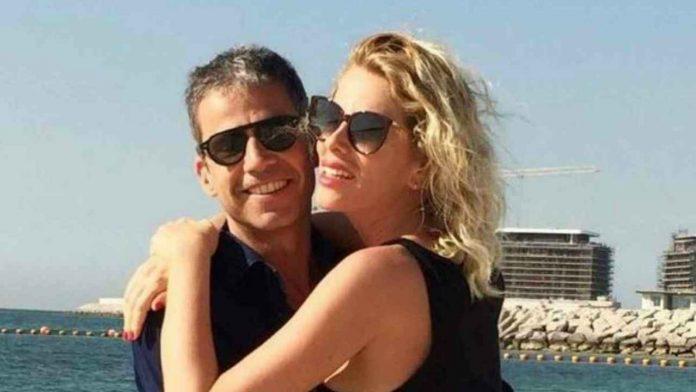 Paolo Calabresi Marconi e Alessia Marcuzzi