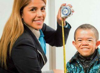 Edward Hernandez, uomo più basso del mondo