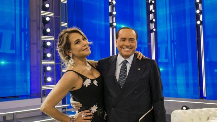 Barbara D'Urso e Silvio Berlusconi