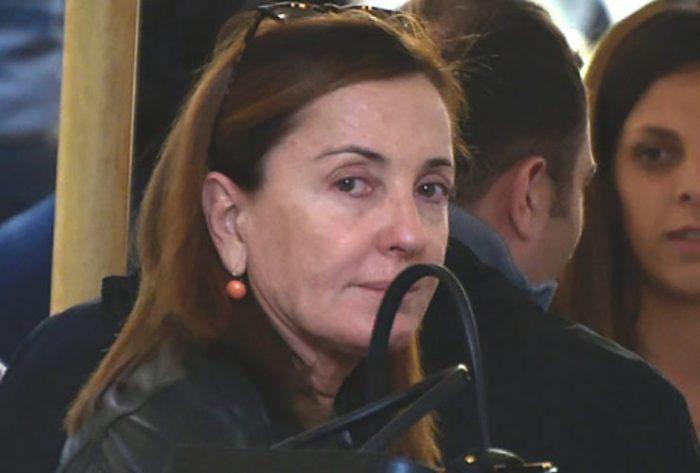 Barbara Palombelli pizzicata senza trucco, tutt'altra storia