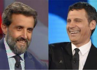 Flavio Insinna e Fabrizio Frizzi