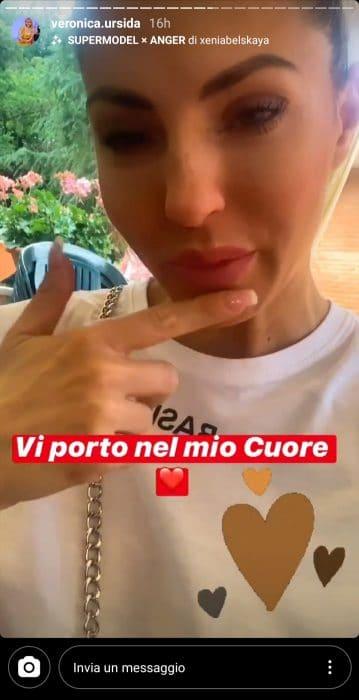 Veronica Ursida in lacrime sui social dopo aver lasciato Uom