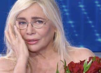 Mara Venier in lacrime