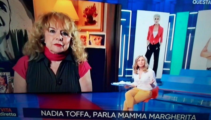 Margherita Rebuffoni a La vita in diretta