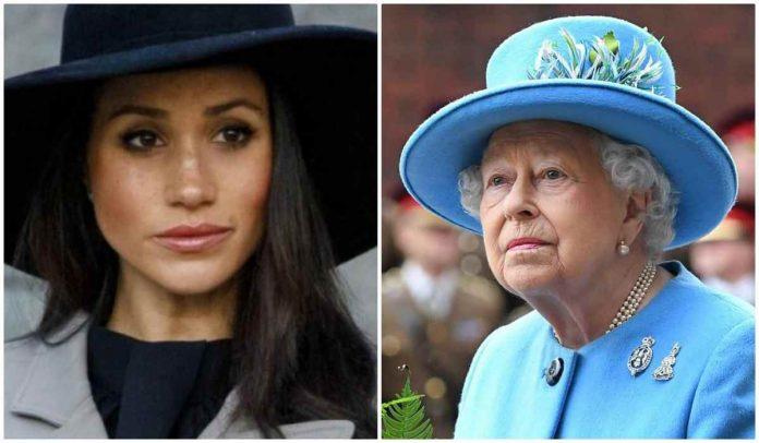 Meghan Markle e la Regina Elisabetta II