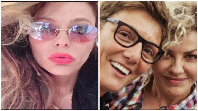 Naike Rivelli bacia Imma Battaglia, Eva Grimaldi assente: il messaggio d'amore su IG [FOTO]
