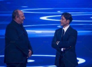 Pier Silvio Berlusconi e Gerry Scotti
