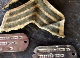 Piastrine da marines restituite dopo 60 anni