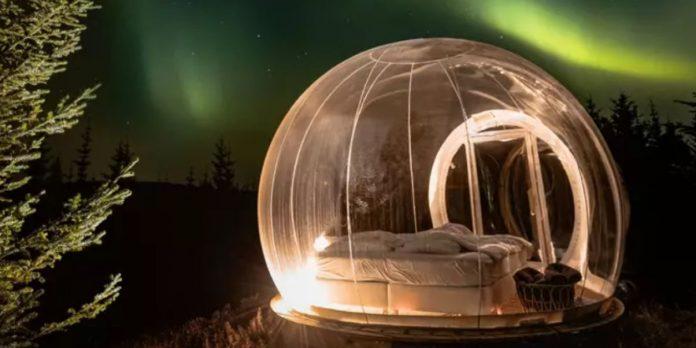 Bubble Hotel in Islanda