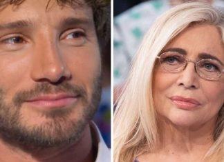 Stefano De Martino e Mara Venier