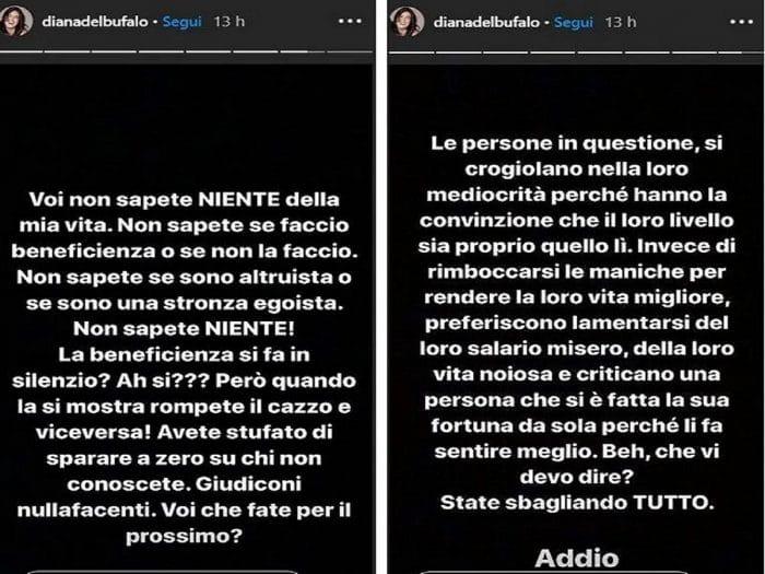Diana Del Bufalo chiude Instagram, colpa degli haters (Foto)