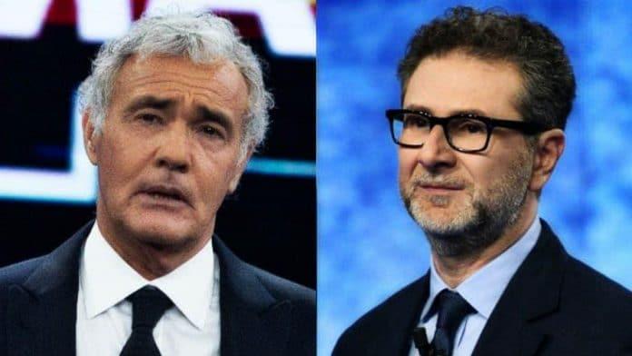 Massimo Giletti e Fabio Fazio