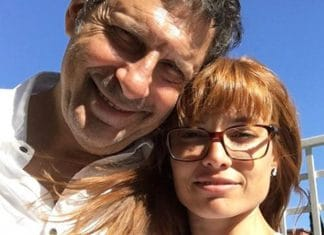 Fabrizio Frizzi e Carlotta Mantovan