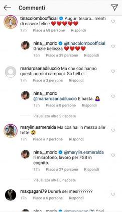 I commenti dei fan