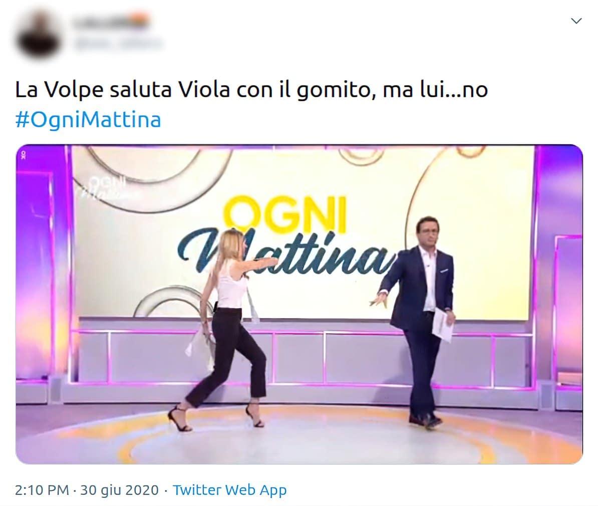Adriana Volpe e Alessio Viola
