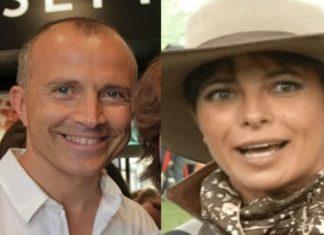 Giorgio Mastrota e Natalia Estrada