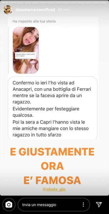 Il web contro Giovanna Abate
