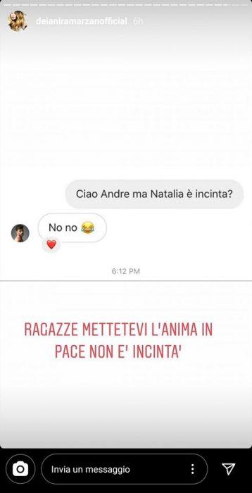 Natalia Paragoni è incinta? Andrea Zelletta rompe il silenzi