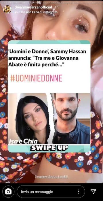 Deianira contro Sammy