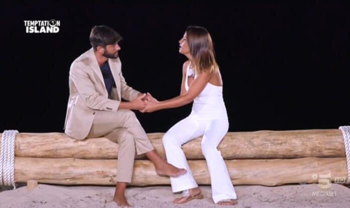 Temptation Island, falò Anna e Andrea