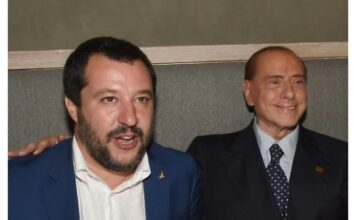 Matteo Salvini - Silvio Berlusconi