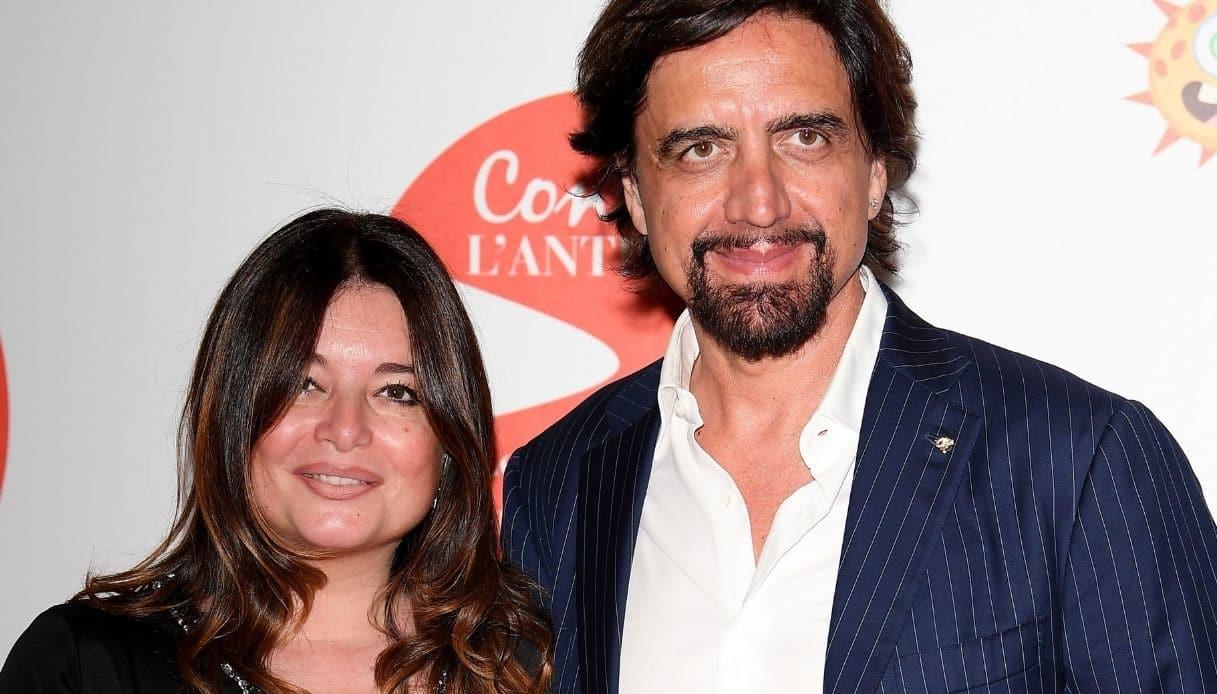 Valerio Staffelli e la moglie Matilde Zarcone